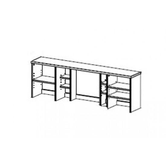 Надстройка стола двухтумбового Фьорд (датский бейц)