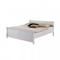Кровать полуторная Мальта 140 (белый воск)
