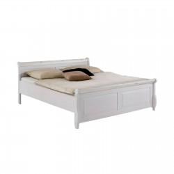 Кровать двуспальная Мальта 160 (белый воск)