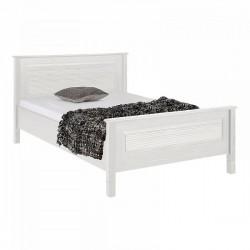 Кровать Рауна 140x200 (белый воск)