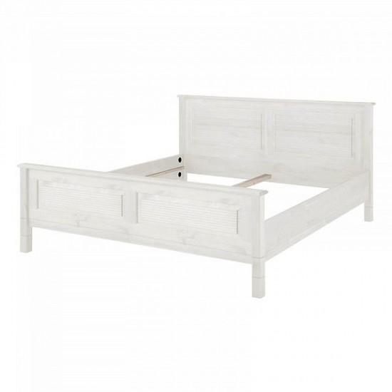 Кровать Рауна 160x200 (белый воск)