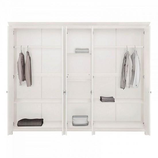 Шкаф для одежды Рауна 50 (белый воск)