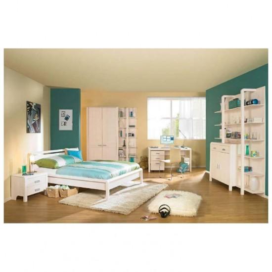 Двухспальная кровать Мадейра, 160x200, Д 8146